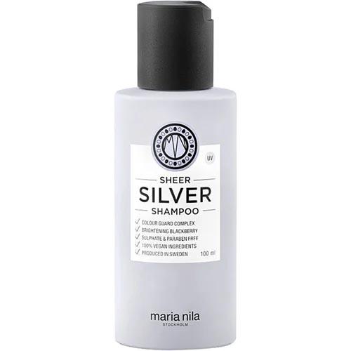 Maria Nila Sheer Silver Vegan Hopeashampoo Arvostelu