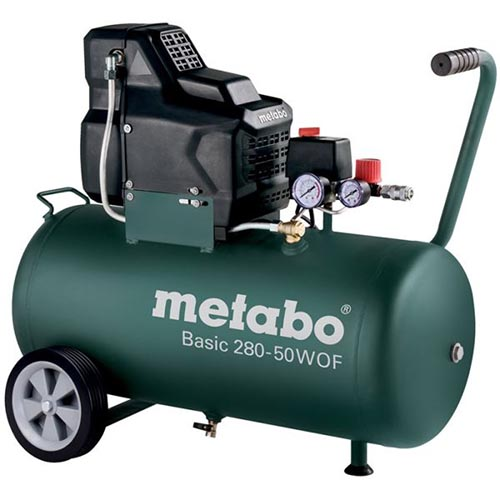 Metabo Basic 280-50 W OF Paineilmakompressori Arvostelu