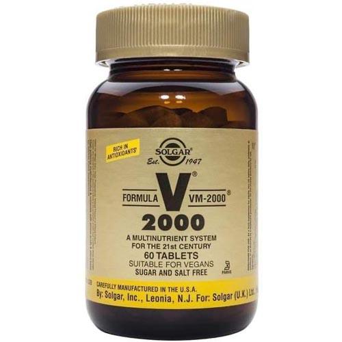 Solgar Formula Vm-2000 Monivitamiini Arvostelu